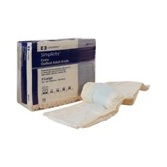 MON846765BG - Cardinal Health - Simplicity™ Unisex Adult Incontinence Brief