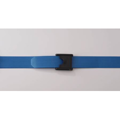 MON65463000 - PoseyGait Belt Premium EZ Clean® 60 Inch Blue Nylon