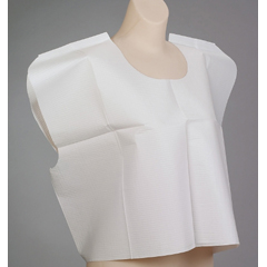 MON65681100 - McKesson - Exam Cape White 21 x 30 Front / Back Opening