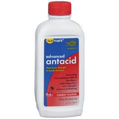 MON65682700 - McKessonAntacid sunmark 400 mg - 40 mg Strength Liquid 12 oz., 1/ EA