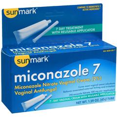 MON564473EA - McKesson - Vaginal Antifungal sunmark 2% Strength / 100 mg Cream 1.59 oz. Tube, 1/ EA