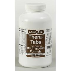 MON65802700 - McKessonMultivitamin Supplement Tablets, 100EA per Bottle