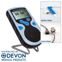 MON66015700 - Devon MedicalHandheld Pulse Oximeter Plus Probes PC-66 Battery Operated