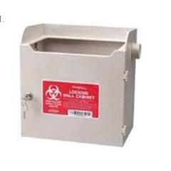 MON66242800 - Cardinal Health - Sharps-A-Gator™ Locking Wall Bracket 3 and 4 Quart
