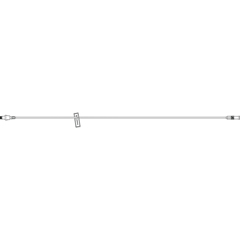 MON726549CS - ICU Medical - Extension Set LifeShield® 7.25Tubing 1 Port 0.8 mL Priming Volume DEHP-Free, 50 EA/CS