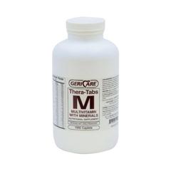 MON66412700 - McKessonMultivitamin Supplement with Minerals Caplets, 1000EA per Bottle