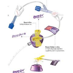 MON66522801 - Bard MedicalHuber Infusion Set PowerLoc® 20 Gauge 1 8 Tubing Without Port