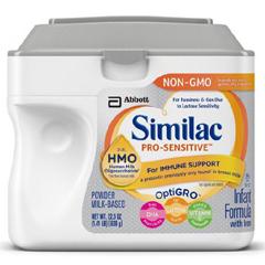 MON66842600 - Abbott NutritionInfant Formula Similac® Pro-Sensitive 1.41 lb. Carton Powder