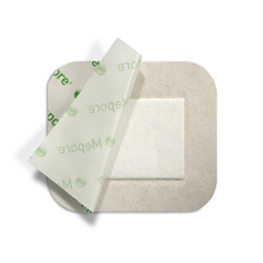 MON564448EA - Molnlycke Healthcare - Adhesive Dressing Mepore Pro 3.6 x 4 Viscose White