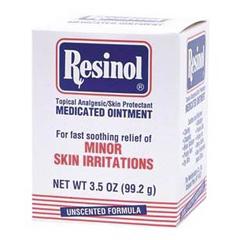 MON67222700 - ResiCalItch Relief Resinol 55% / 2% Strength Cream 3.5 oz. Jar (1422542)