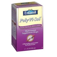 MON67332700 - Mead Johnson NutritionPediatric Multivitamin Supplement PolyViSol 1500 IU Strength Drops 1.67 oz.