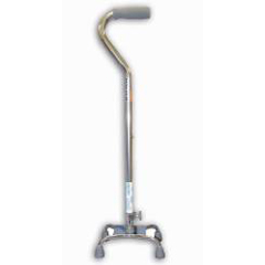 MON67423800 - McKessonQuad Cane sunmark® Aluminum 29-1/2 to 38 Inch Chrome