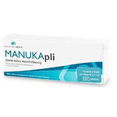 MON67492100 - Manukamed - Wound Dressing MANUKApli Paste 1/2 oz. Tube Sterile, 2/PK 5PK/BX