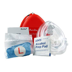MON67673900 - First Aid OnlyMask Kit Cpr EA