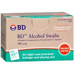 MON67782700 - BDSwab Alcohol Reg 100EA/BX