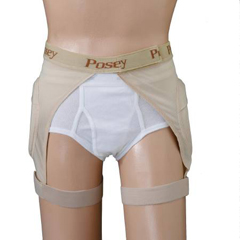 MON68193000 - PoseyHip Protection Brief Hipsters® EZ-On Large Beige Unisex