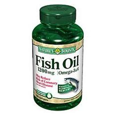 MON68342700 - US NutritionOmega-3 Fish Oil Supplement 1200 mg Softgel 100 per Bottle