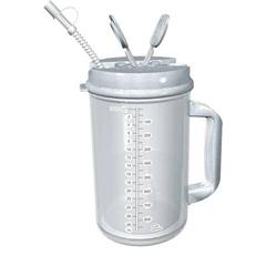 MON68402900 - WhirleyThermo Mug 32 oz. Clear / Granite, 50EA/CS