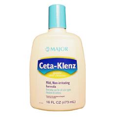 MON68761700 - Major PharmaceuticalsFacial Cleanser Ceta-Klenz Liquid 16 oz. Bottle Unscented (241902)