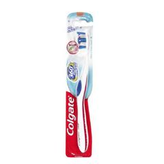 MON68811700 - Colgate-PalmoliveToothbrush Colgate 360 Red / White / Blue Adult Soft