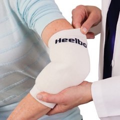MON68903012 - Mabis HealthcareHeel / Elbow Protector Sleeve Large White