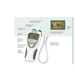 MON69022500 - Welch-AllynDigital Ear Thermometer SureTemp® Plus Rectal Hand-Held