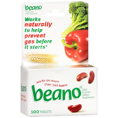 MON69792700 - McKessonGas Relief Beano® 100 per Bottle Tablet