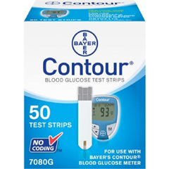 MON70082400 - BayerContour® Blood Glucose Test Strips