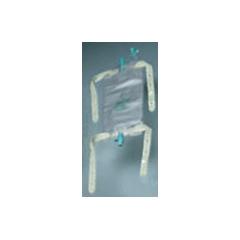 MON191933CS - Bard Medical - Urinary Leg Bag Anti-Reflux Valve 19 oz. Vinyl