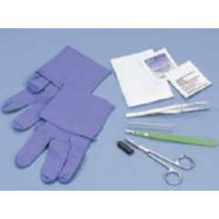MON70442105 - Busse Hospital DisposablesSharp Debridement Tray