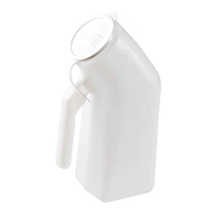 MON70772900 - Apex-Carex - Male Urinal Carex 32 oz. With Cover Single Patient Use
