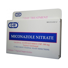 MON70932700 - G & W LabsAntifungal Suppository 100 mg (1643402)