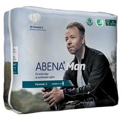 MON70973115 - Abena - Abena™ Man Formula 2 Moderate Absorbency 11 Bladder Control Pads, 180/CS