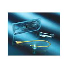 MON71081900 - Bard MedicalIndwelling Catheter Tray Bard Foley 18 Fr. 5 cc Balloon Silicone Elastomer Coated Latex