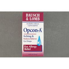 MON71082700 - Bausch & LombAntihistamine Eye Drops Opcon-A 0.5 oz.