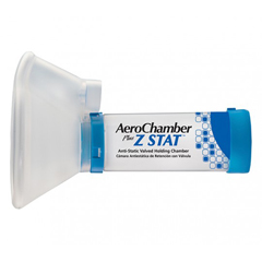 MON71083900 - Monaghan MedicalAEROCHAMBER PLUS® Z STAT® anti-static aVHC w/LRG ComfortSeal® Mask