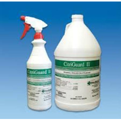 MON71304100 - HealthlinkHard Floor Cleaner / Disinfectant Clear Lemon Liquid 1 Gallon 2 Ounces Per Gallon, 4 Ounces Per Gallon, 4GL/CS