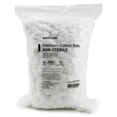 MON71321200 - McKessonCotton Ball Medium Cotton NonSterile, 2000/BG
