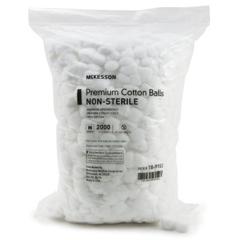 MON71321202 - McKessonCotton Ball Medium Cotton NonSterile, 2000/BG 2BG/CS