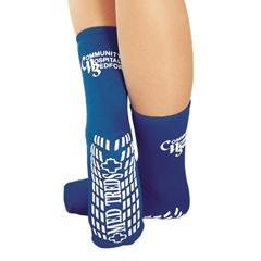 MON71421000 - PBE - MedTreds® Childs Slipper Socks, Royal Blue, Mid-Calf