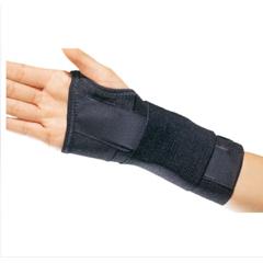 MON71553000 - DJO - Wrist Support PROCARE® CTS Contoured Aluminum Stay Cotton / Elastic Right Hand Black Medium