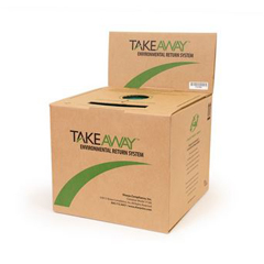 MON71712800 - Sharps Compliance10-Gallon TakeAway Environmental Return System