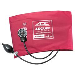 MON72012501 - ADCAneroid Sphygmomanometer Bariatric Diagnostix Pocket Style Hand Held 2-Tube Adult