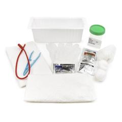 MON72021900 - McKessonIntermittent Catheter Tray, 1200 cc, Rubber (37-202)