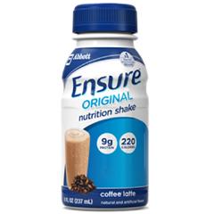 MON649271EA - Abbott Nutrition - Oral Supplement Ensure® Original Coffee Latte 8 oz. Bottle Ready to Use