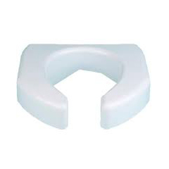 MON72593500 - MaddakBasic Open Front Elevated Toilet Seat
