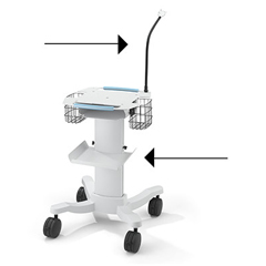MON10275900 - Welch-Allyn - ECG Cart Cable Arm
