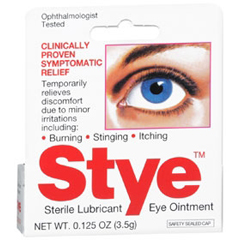 MON730979EA - Emerson Healthcare - Eye Lubricant Stye 3.5 Gram Eye Ointment, 1/ EA