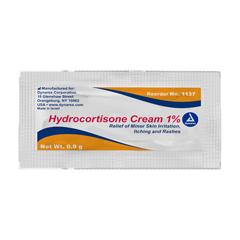 MON73112700 - Dynarex - Hydrocortisone Cream, 0.9 g Foil Packets, 144EA/BX
