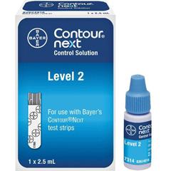 MON890701EA - Contour - Next Control Solution  Blood Glucose 2.5 mL Level 2
